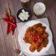 Korean style chicken and beer, delicious fried or spicy sauce chicken with cool beer - PhotoDune Item for Sale