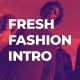 Fresh Fashion Intro - VideoHive Item for Sale