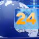 24 news opener with looped background - VideoHive Item for Sale