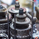 Close-up helical gears in car automatic transmission - PhotoDune Item for Sale