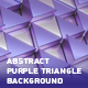 Abstract Purple Triangle Background - VideoHive Item for Sale
