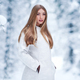 Fashion young woman in the winter forest - PhotoDune Item for Sale