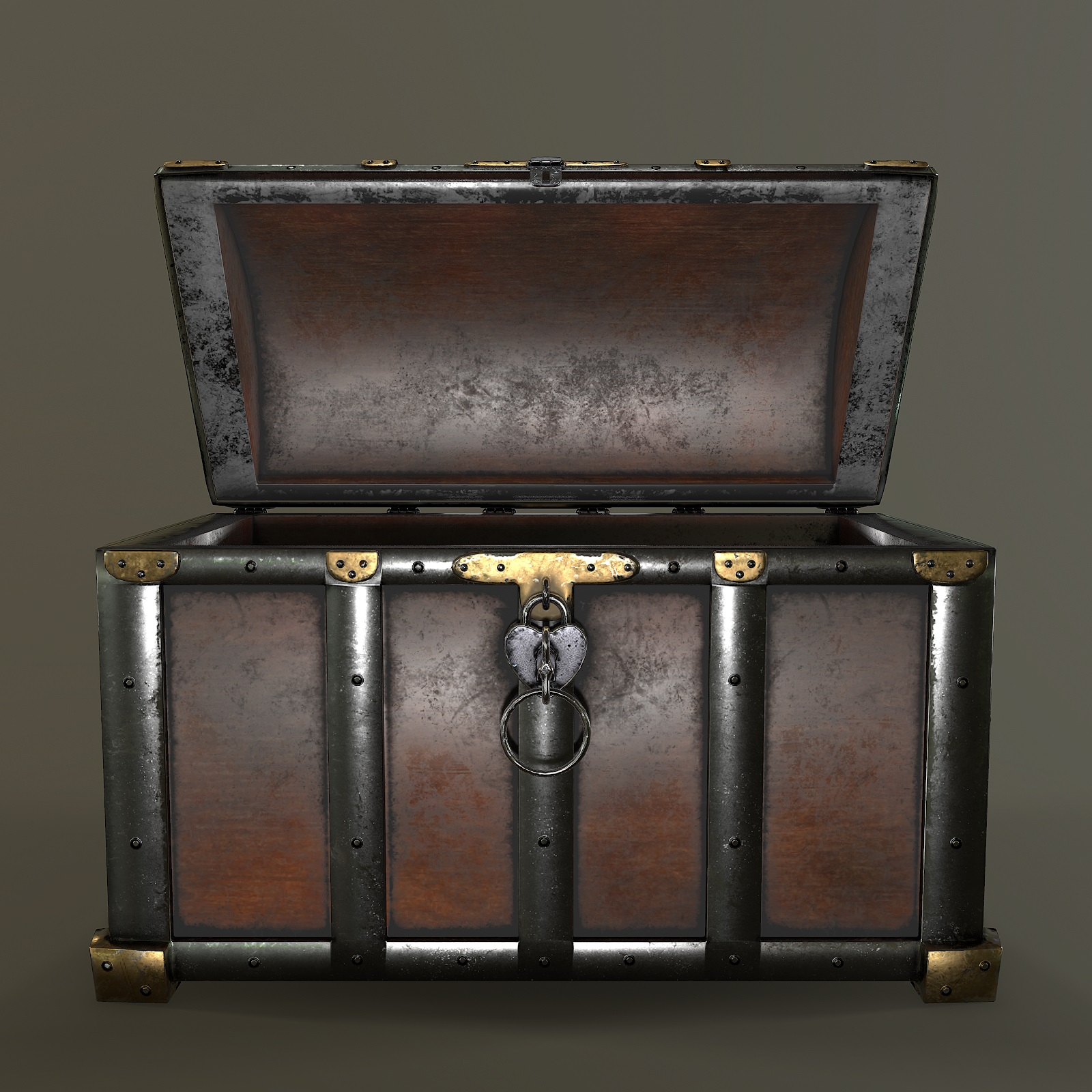 Chest 3d Model By Nicu Tepes 3docean