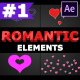 Romantic Elements | After Effects - VideoHive Item for Sale