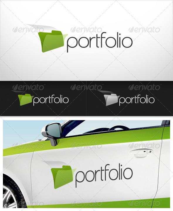 Portfolio Logo - Symbols Logo Templates