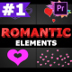 Romantic Elements | Premiere Pro MOGRT - VideoHive Item for Sale