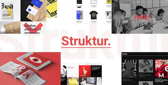 Struktur - Creative Agency Theme