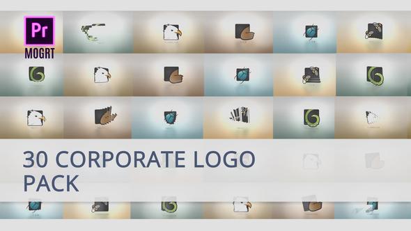 30 Corporate Logo for Premiere Pro MOGRT