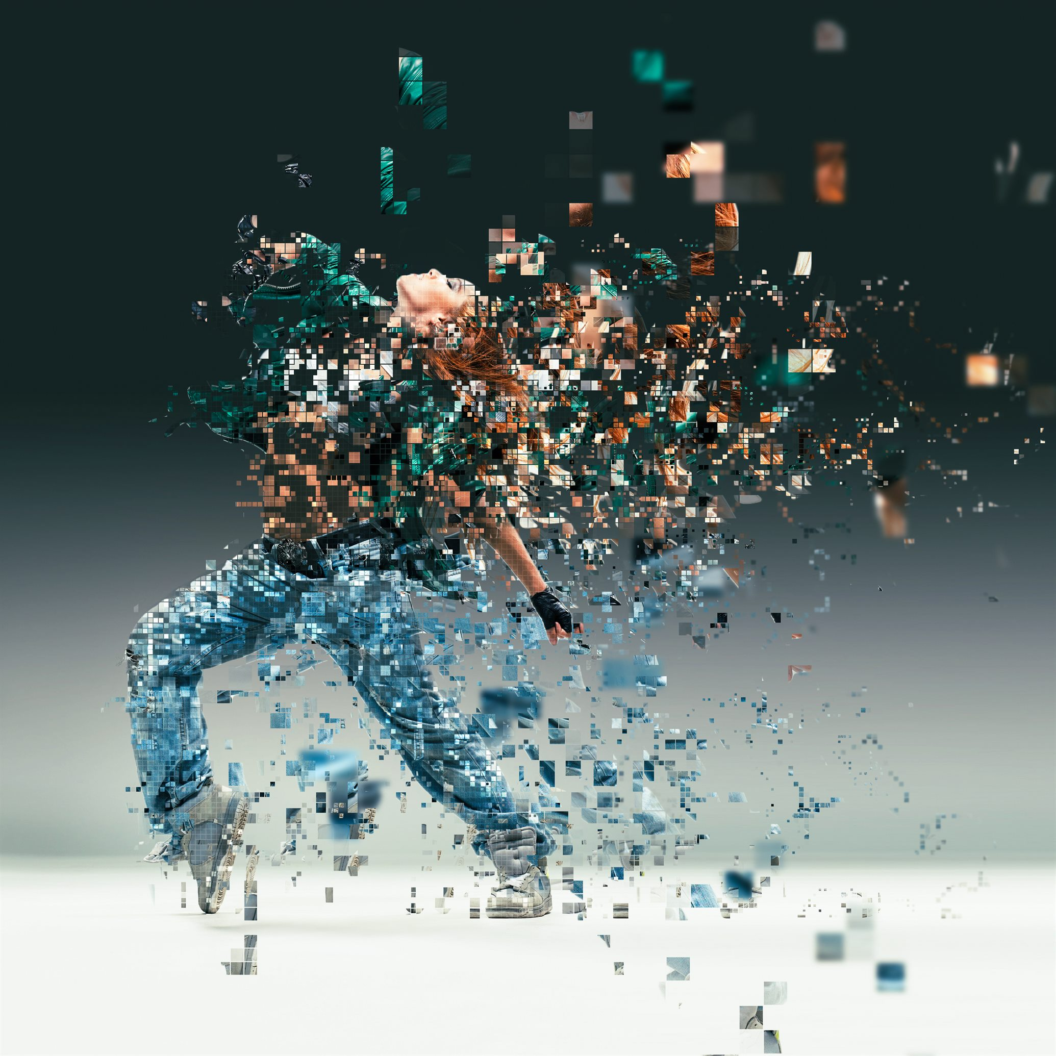 Pixelated Photoshop Action By Sevenstyles