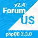 ForumUS | Responsive phpBB 3.3.0 Style / Theme