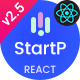 StartP - React Next IT Startups & Digital Services Template
