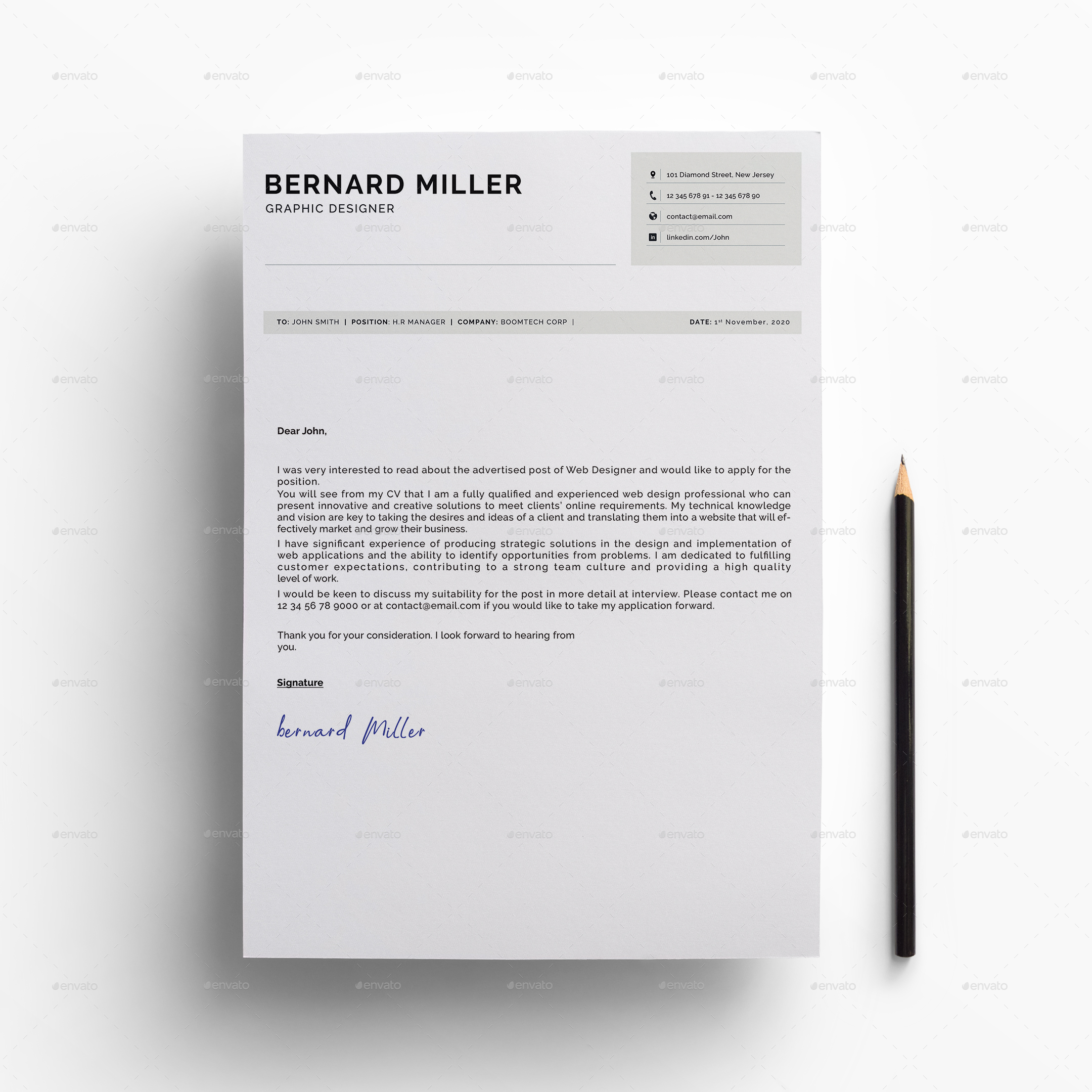 Resume Template By CodePower