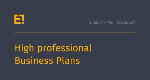 Egotype Business Plans
