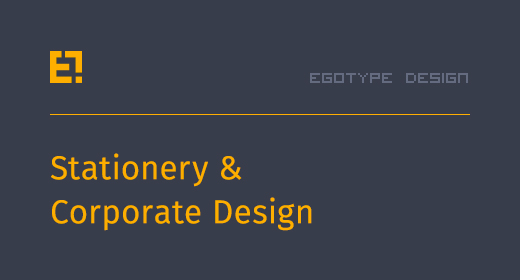 Egotye Stationery and Corporate Designs