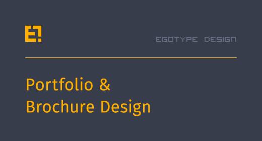 Egotype Portfolio Designs