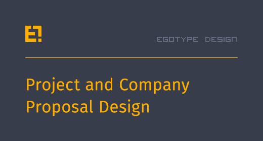 Egotype Proposal Design