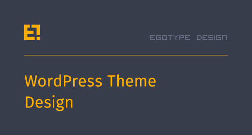 Egotype Wordpress Themes