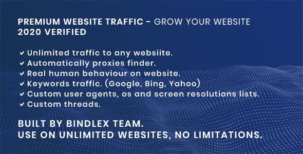 Premium Website Traffic 2.0   Gain visitors for your website