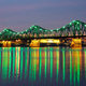 Bridge in Wloclawek at Night - PhotoDune Item for Sale