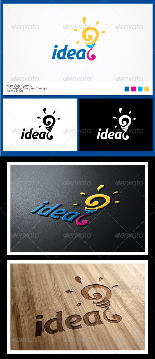 Idea Logo Template - Symbols Logo Templates