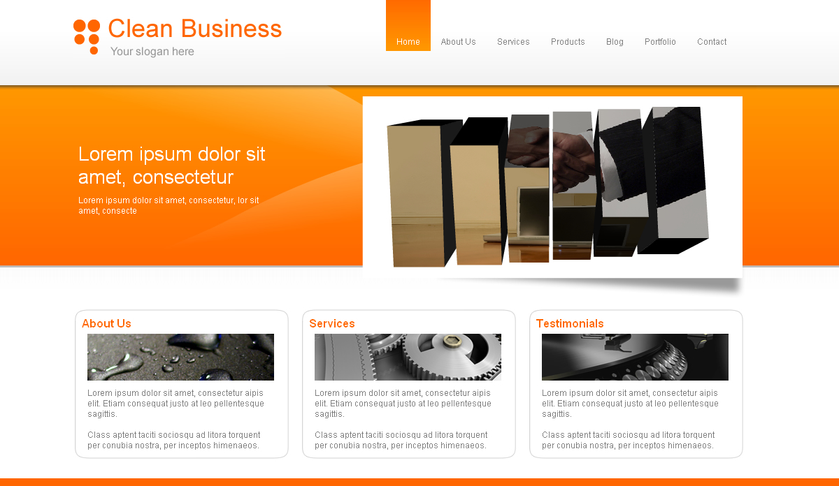 Free Download Clean Business & Portfolio Nulled Latest Version