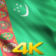 Turkmenistan Flags - VideoHive Item for Sale
