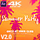 Summer Beach Party v2 - VideoHive Item for Sale