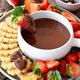 Chocolate fondue with strawberries - PhotoDune Item for Sale