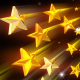 Golden Stars Background - VideoHive Item for Sale