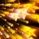 Stars Golden Background - VideoHive Item for Sale
