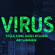 Virus titles, logo, icons reveal. Instagram stories presets. - VideoHive Item for Sale