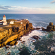 Lighthouse And Sea In Peniche Portugal - PhotoDune Item for Sale