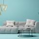Interior of modern living room 3D rendering - PhotoDune Item for Sale