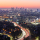 Downtown Los Angeles skyline at sunrise - PhotoDune Item for Sale