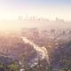 Downtown Los Angeles skyline at sunrise - PhotoDune Item for Sale