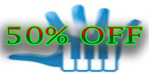 50% - OFF