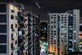 Singapore Urban Buildings At Night - PhotoDune Item for Sale