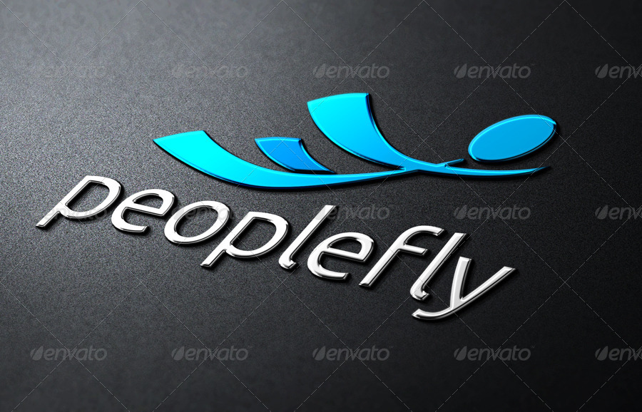 People Fly Logo Templates