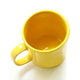 Yellow mug on a white background - PhotoDune Item for Sale