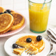 Sweet homemade pancakes with blueberries - PhotoDune Item for Sale