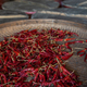 Chili drying in a wicker bowl - PhotoDune Item for Sale