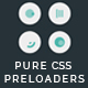 Collection of 15 Pure CSS Page Preloaders