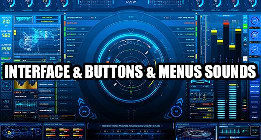 Interface & Buttons & Menus Sounds