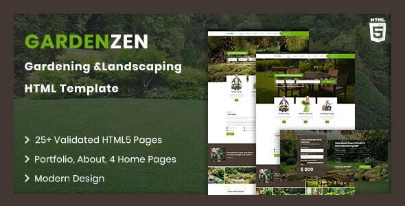 Gradenzen | Garden & Landscape HTML Template