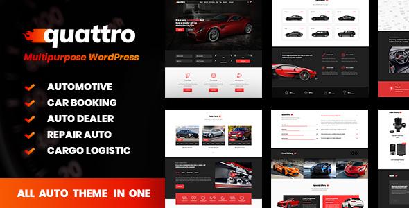 Quattro - Auto Booking & Automotive