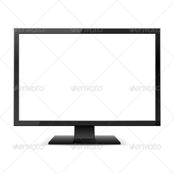 LCD TV monitor - Technology Conceptual