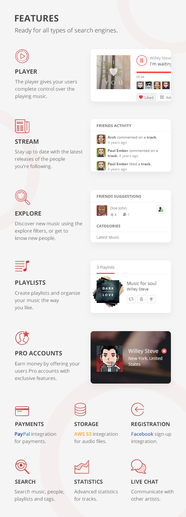 phpSound - Music Sharing Platform - 5