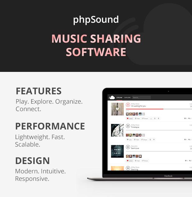 phpSound - Music Sharing Platform - 4