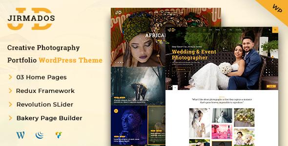 Jirmados | WordPress Photography Theme