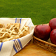 Apple pie and red apples - PhotoDune Item for Sale